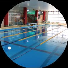 天然軟水プール利用(水泳、水中ウォーク)
